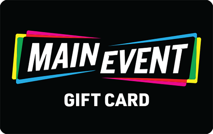 Promotion of Main Event eGift Cards