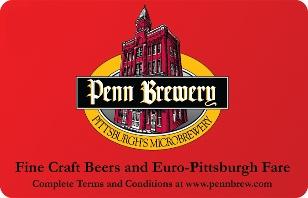 Penn Brewing eGift
