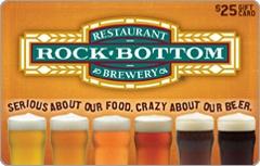 Rock Bottom Gift Card