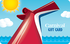 Carnival Cruise Lines Gift Card