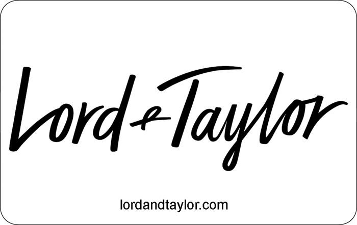 Lord + Taylor eGift Card