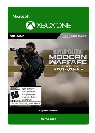 XBOX Modern Warfare Operator Enchanced Edition $99.99