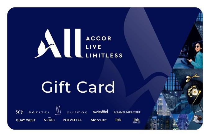 Accor Hotels eGift Card