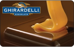 Ghirardelli Chocolate Company Caramel Pour Gift Card