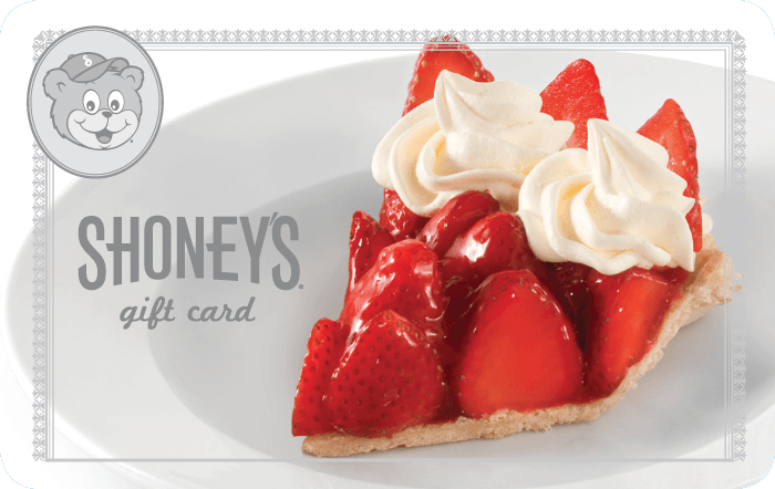 Shoney's Gift Card