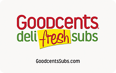 Goodcents Deli Fresh Subs Original Gift Card