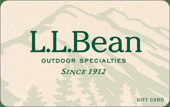L.L. Bean $50 Gift Card