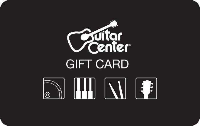 Guitar Center Gift Cards