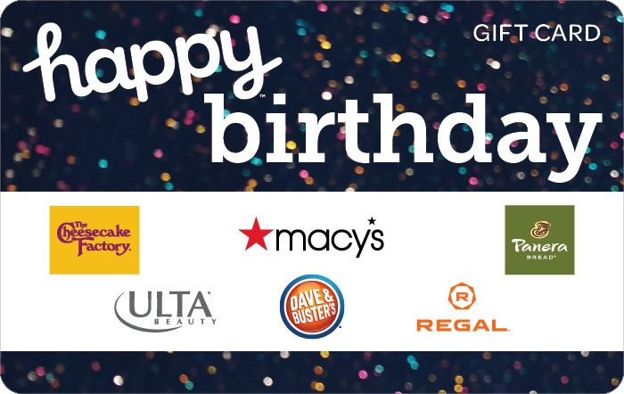 Happy Birthday Gift Cards
