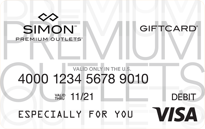Simon Visa Gift Card