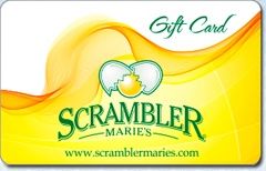 Scramblers Gift Cards