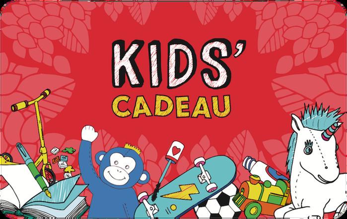 Kids Cadeau Gift Card