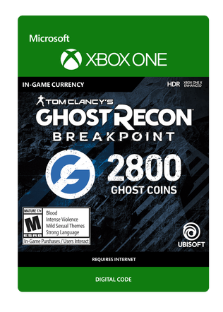 XBOX Ghost Recon 2400VC $19.99 eGift