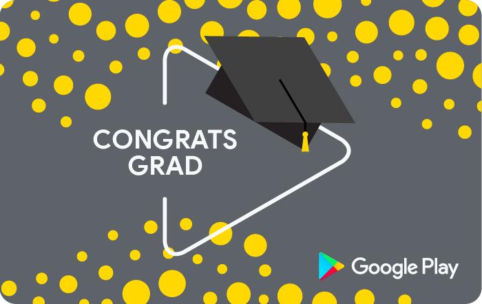 Google Graduation eGift