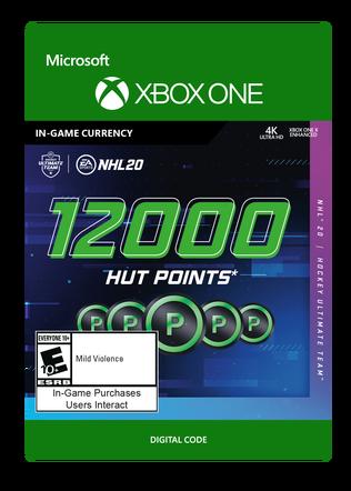 XBOX C2C NHL 20: 12000 POINTS