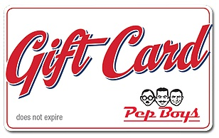 Pep Boys $25 eGift