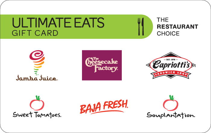 Ultimate Eats West Gift Card