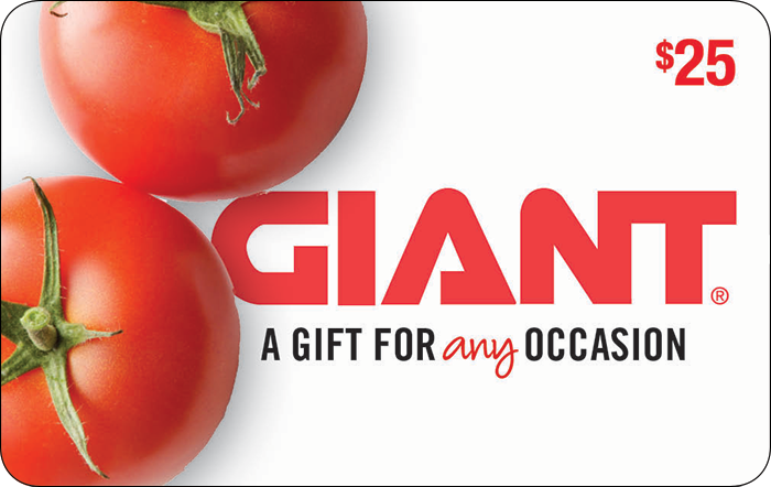 Giant Food $50 Gift Card