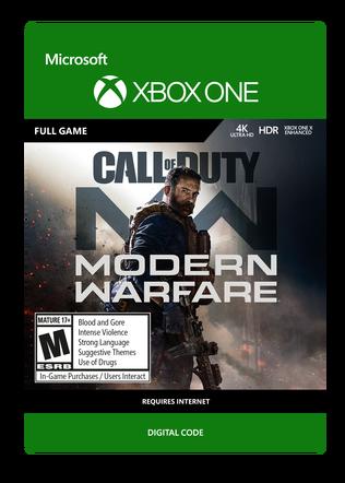 XBOX Modern Warfare $59.99