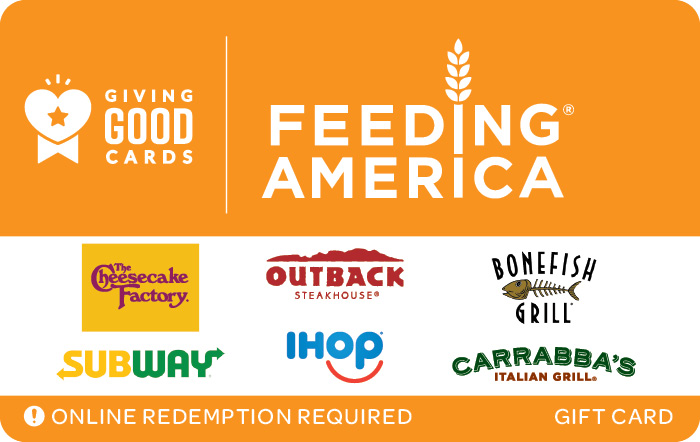Feeding America eGift Card