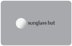 Sunglass Hut Silver Gift Card