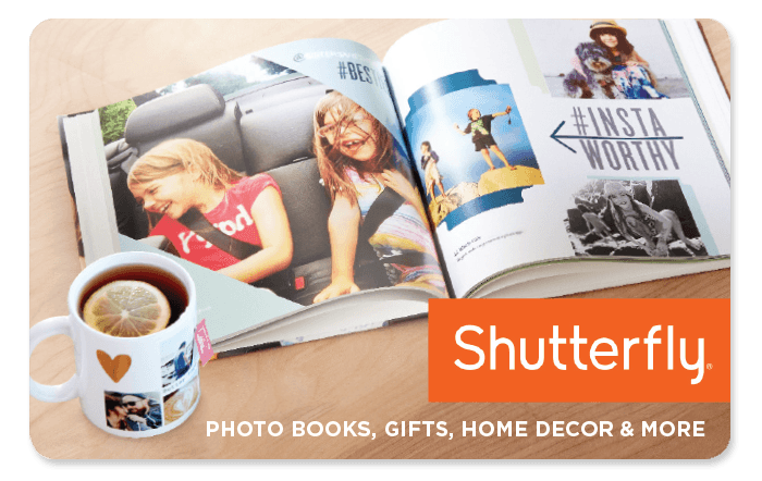 Spend $100 and get an additional $15 Shutterfly Bonus Card to surprise and delight Mom with a personalized keepsake they will treasure for years to come!