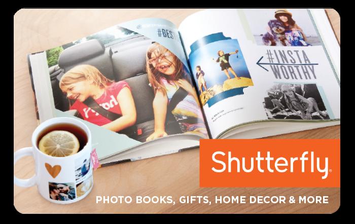 Shutterfly eGift Card