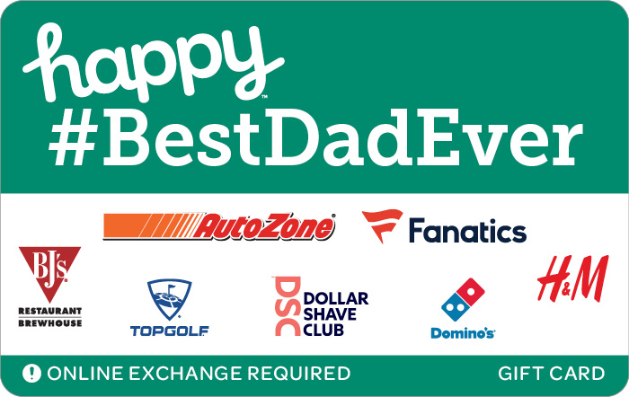 Happy #BestDadEver eGift Card