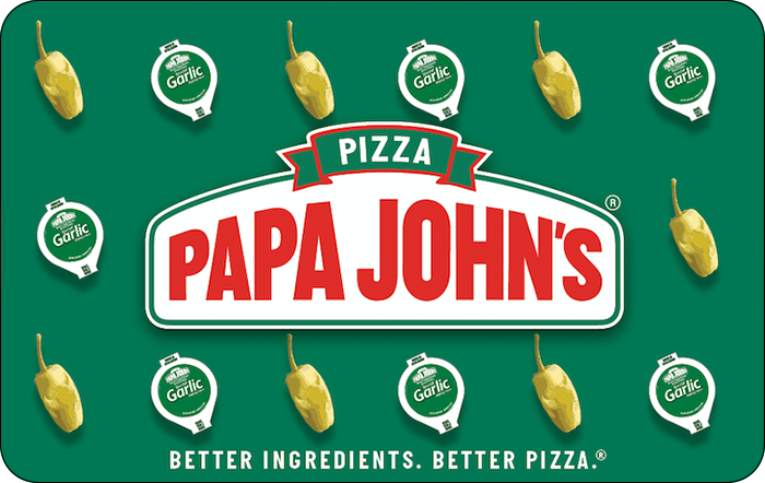 Papa John's Pizza eGift