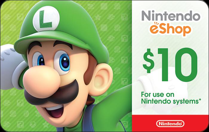 Nintendo $10 eGift