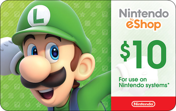 Nintendo $10 eGift