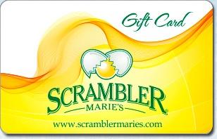 Scrambler Marie's eGift Card