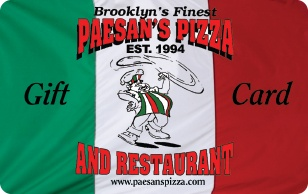 Paesans Pizza eGift Card