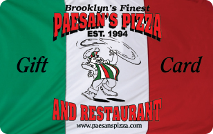 Paesan's Pizza eGifts