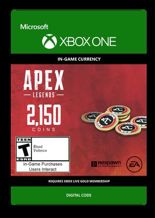 Apex Legends 2150 Coin Digital Download
