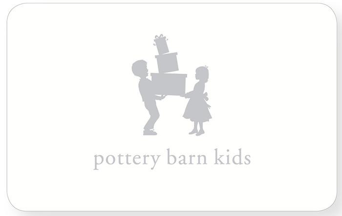 Pottery Barn Kids e-Gift | BHN Friends and Family