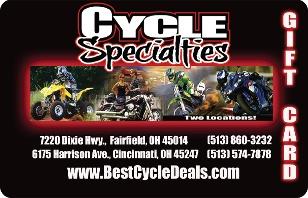 Cycle Specialties eGift Card