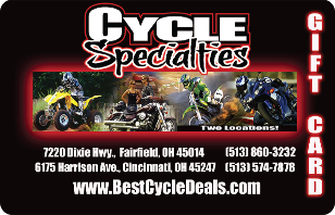 Cycle Specialties eGift