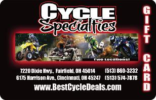 Cycle Specialties eGift