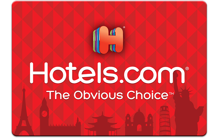 Hotels.com eGift Cards