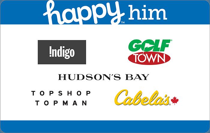 Happy Him Card