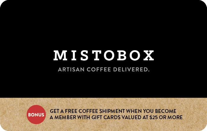 MistoBox Gift Card