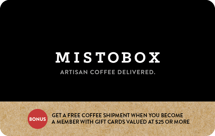Mistobox Gift Cards