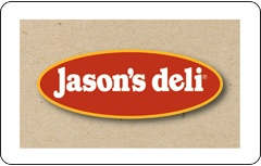 Jasons Deli Gift Card