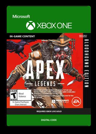 XBOX Apex Bloodhound Edition $19.99