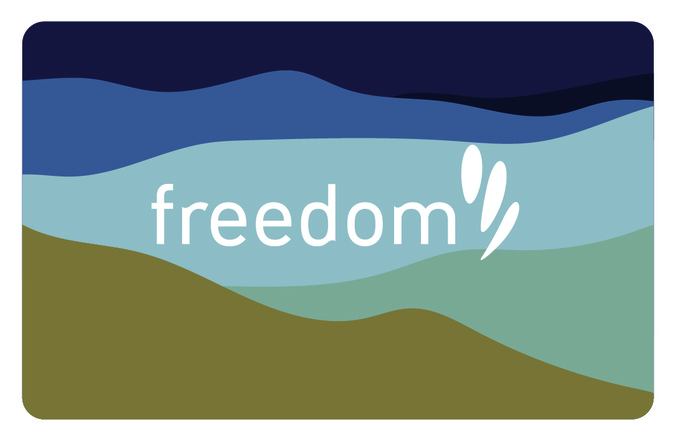 freedom eGift card