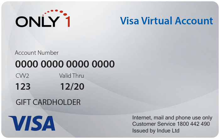 Only 12 Virtual Visa Gift Card  Corporate Card Store