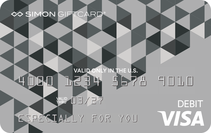 Simon Visa Gift Card