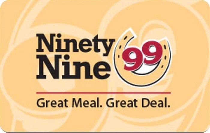 Ninety Nine Egift Card
