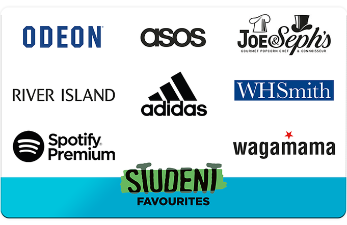 Student Favourites Gift Card